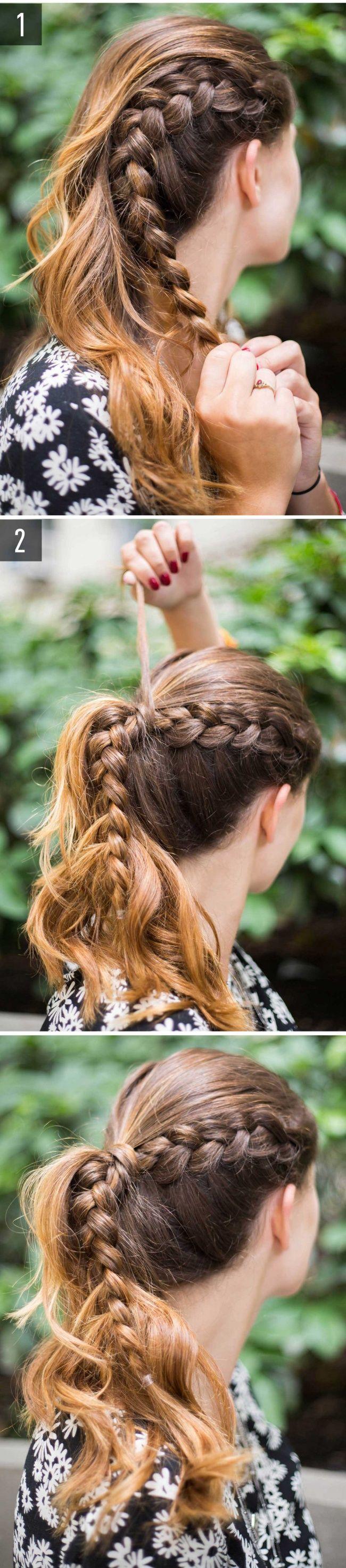 maneras de peinarte si se te está haciendo tarde hair style