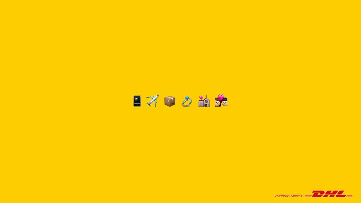 Dhl Emotios Express On Behance Emotions Expressions Emoji