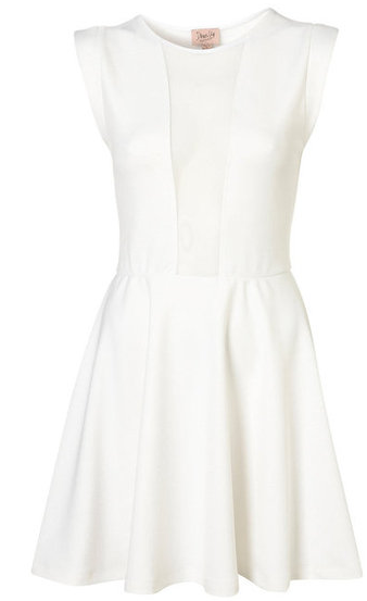 335e9848ab7 Love the simple white structured dress...that doesn t look like a