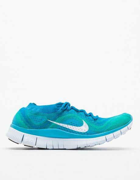 5f8b6ee6b6b Nike   Nike Free Flyknit+ in Neo Turquoise