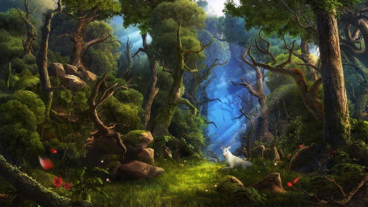 это сказочный лес картинки хорошего качества кстати