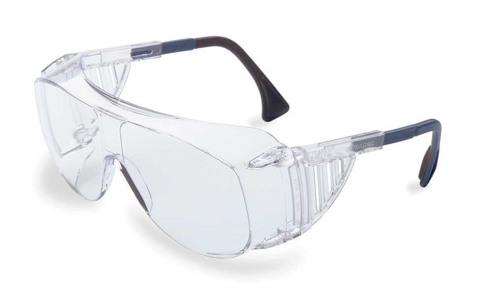 Uvex S0112 Ultraspec® 2001 Over the Glass Clear Lens in