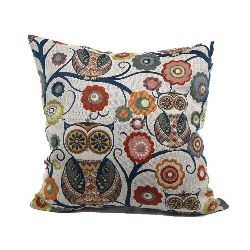 Pin by Ting Ho on Bedding Owl throw pillows, Throw