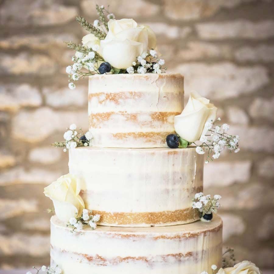 15 of the Prettiest Buttercream Wedding Cakes | Buttercream wedding ...
