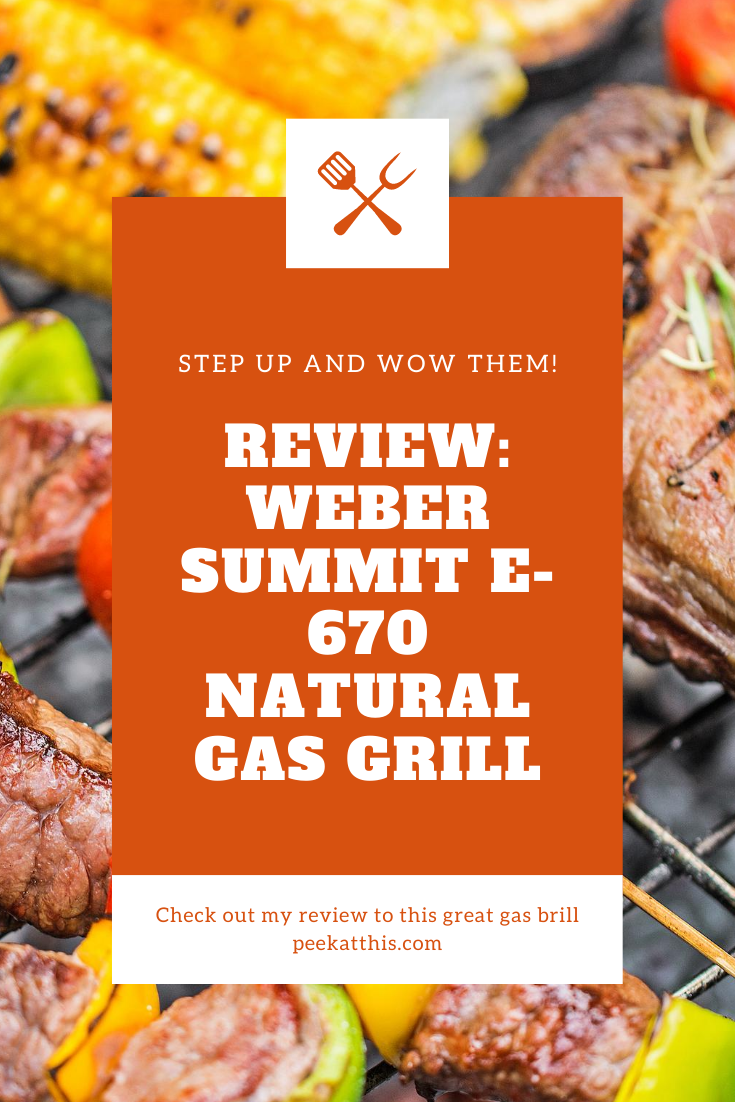 My Weber Summit E 670 Natural Gas Grill Review Peek At This Blog In 2020 Cheap Bbq Bbq Party Food Bbq Recipes