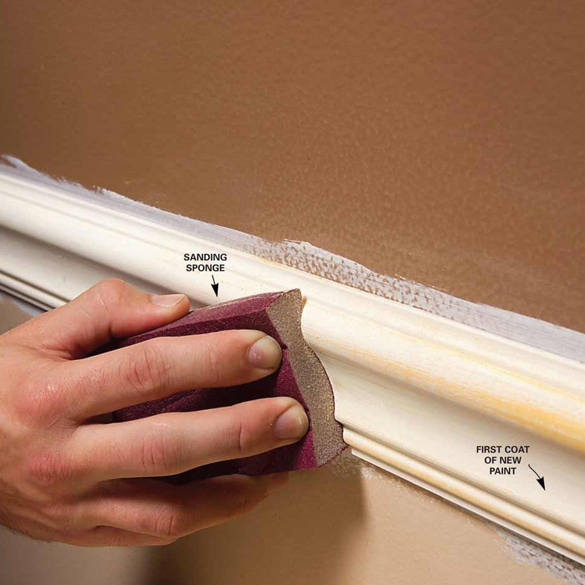 Trim Paint Tips For Smooth Perfect Results Painting Trim Best Home Interior Design Colorful Interiors