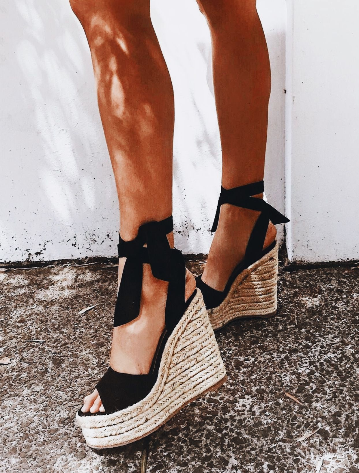 32da7596da29d audreygrace16 on pinterest & audrey_baenziger on insta love you loves!  Black Espadrilles Wedges,