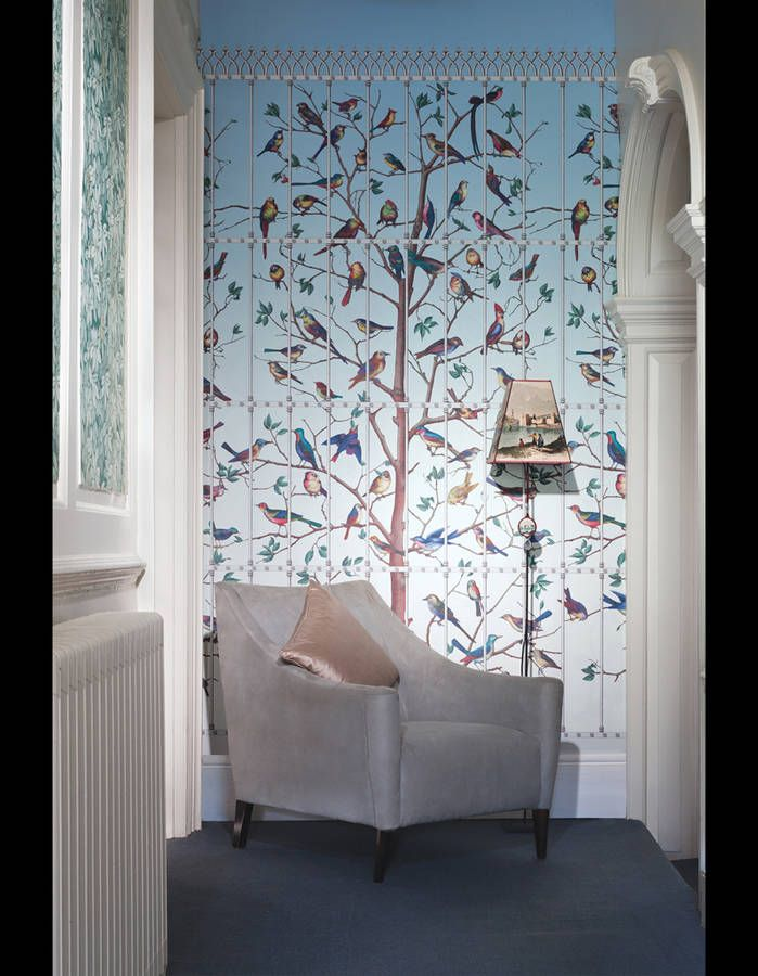 Papier peint Uccelli Fornasetti II, Cole & Son | walls and floors ...