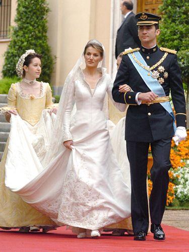 vestidos de novia de la realeza: como en un cuento de hadas | p