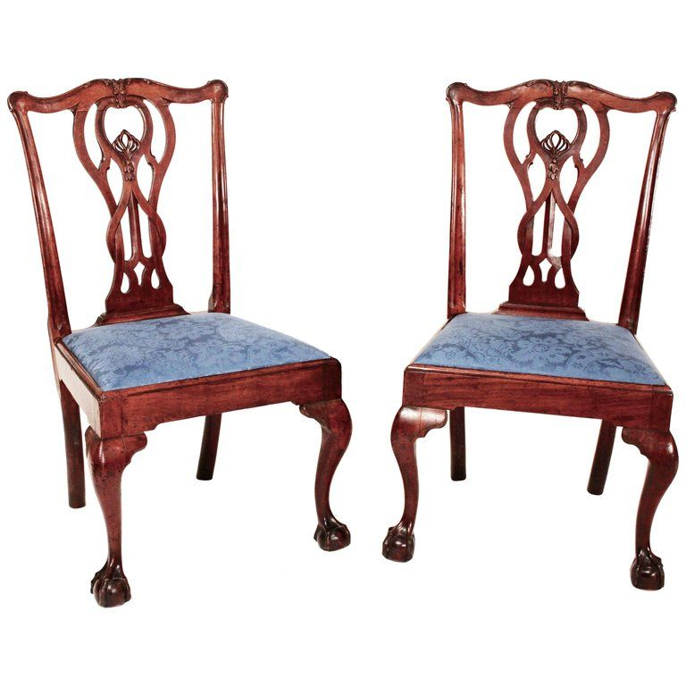 Best Pair Of 18Th Century Baltimore Mahogany Chippendale Side Chairs Side Chairs Chair Furniture 400 x 300