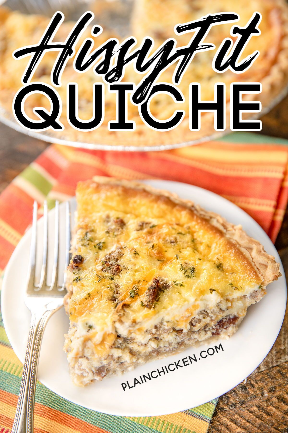 Hissy Fit Quiche In 2020 Quiche Recipes Quiche Recipes Easy Breakfast Dishes
