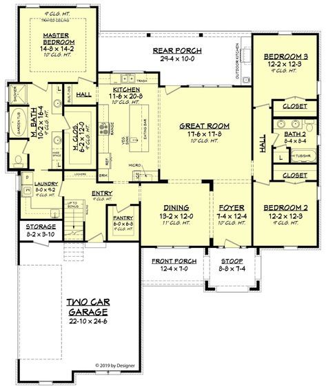 Abbey Lane House Plan House Plan Zone House Plans In 2019 House Plans American Houses Architectural Design House Plans