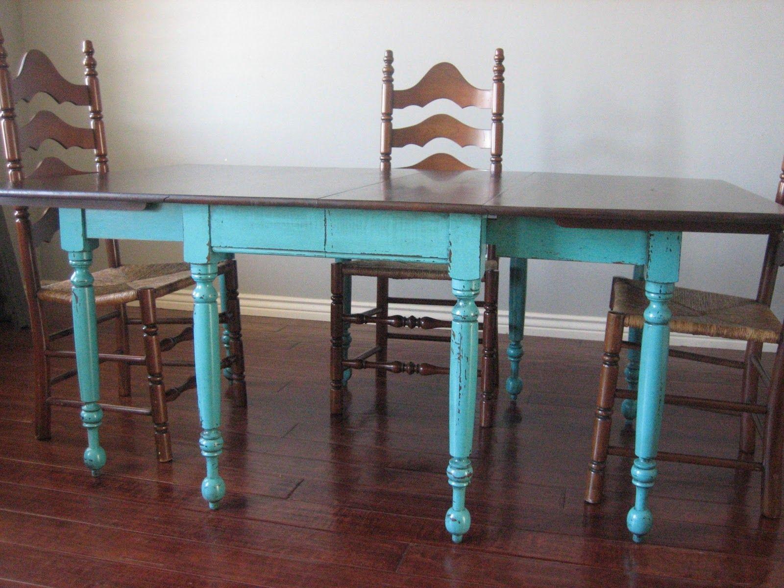 Teal Dining Table Chairs | http://enricbataller.net | Pinterest ...