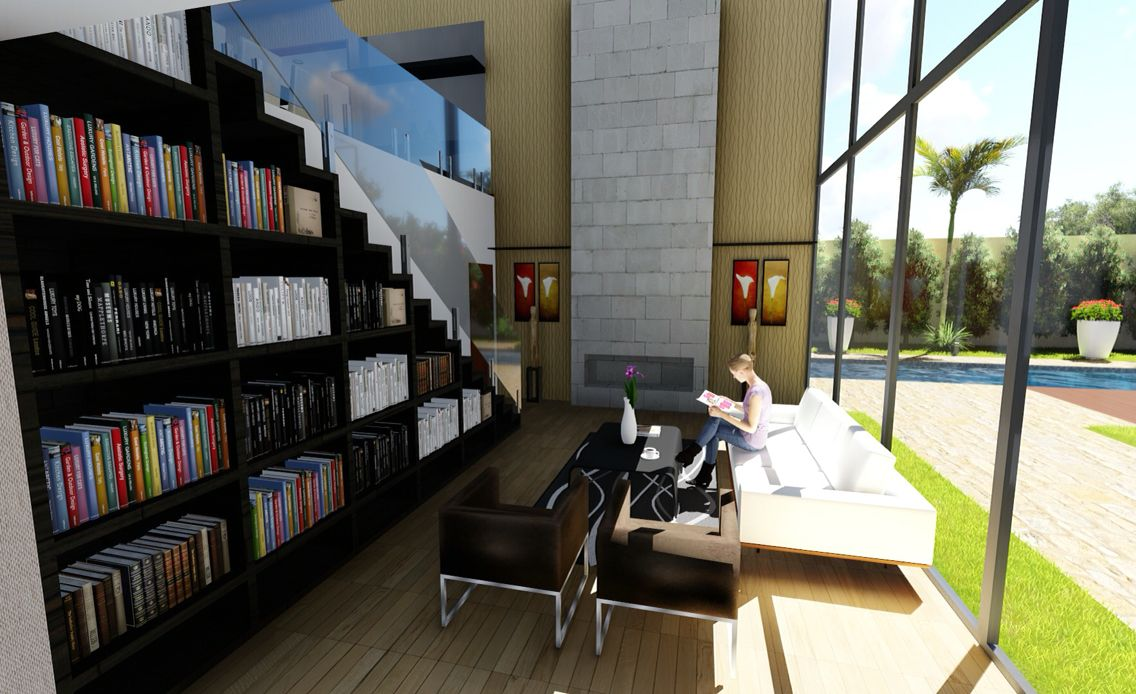 Sala intima/biblioteca @gmarquit