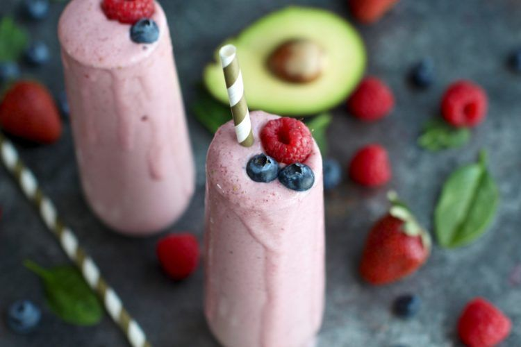 Anti-Aging Banana Berry Smoothie - The Real Food Dietitians