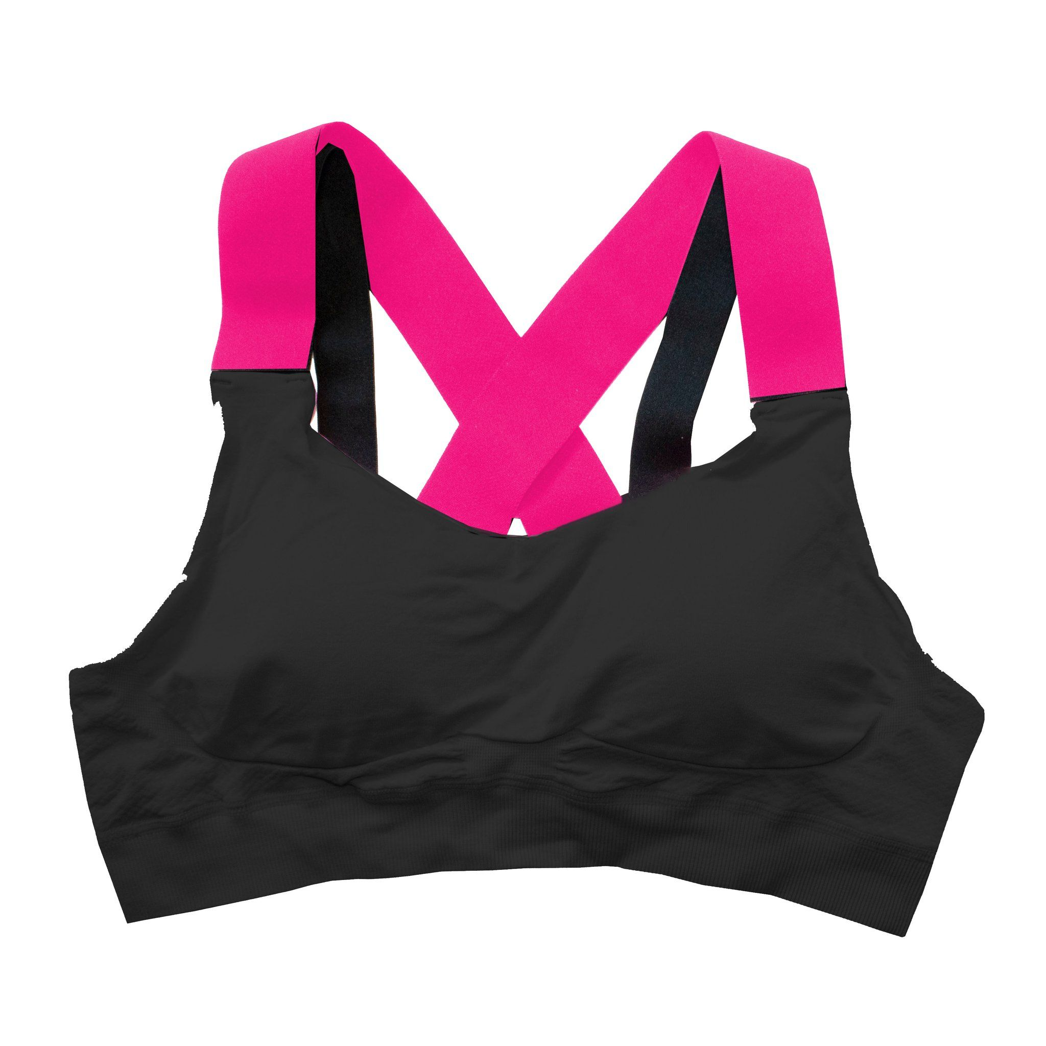 Bonnie's Black Strappy Large Bust Sports Bra in 2020 Hot