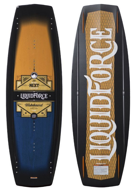 Liquid Force 2016 Next Wakeboard Bob Soven Pro Model Wakeboarding Wakesurfing Surfing