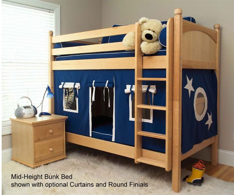 Maxtrix Medium Bunk Bed Bed Frames Maxtrix Furniture Kid