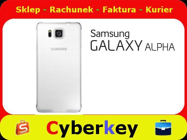 Samsung Back Cover White Galaxy Alpha 5204149427 Oficjalne Archiwum Allegro Samsung Galaxy Alpha Samsung Galaxy