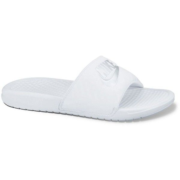 573857fc8ab2 Nike Benassi Women s Slide Sandals ( 25) ❤ liked on Polyvore featuring shoes