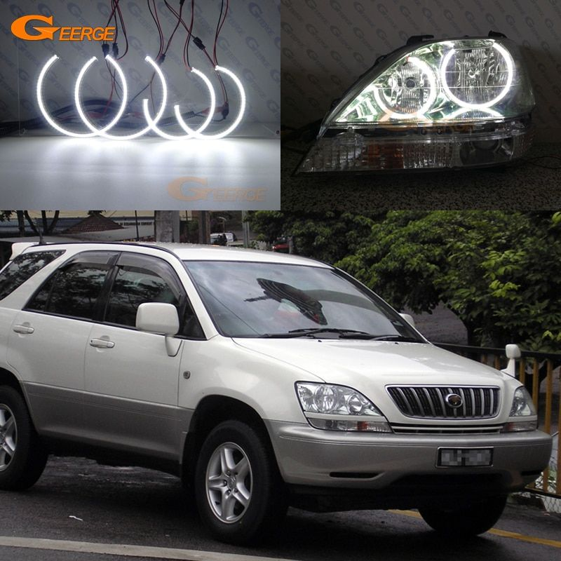 Cheap Led Angel Buy Quality Led Angel Eyes Directly From China Led Halo Rings Suppliers For Toyota Harrier 1997 1998 Toyota Harrier Toyota Suv Led Angel Eyes