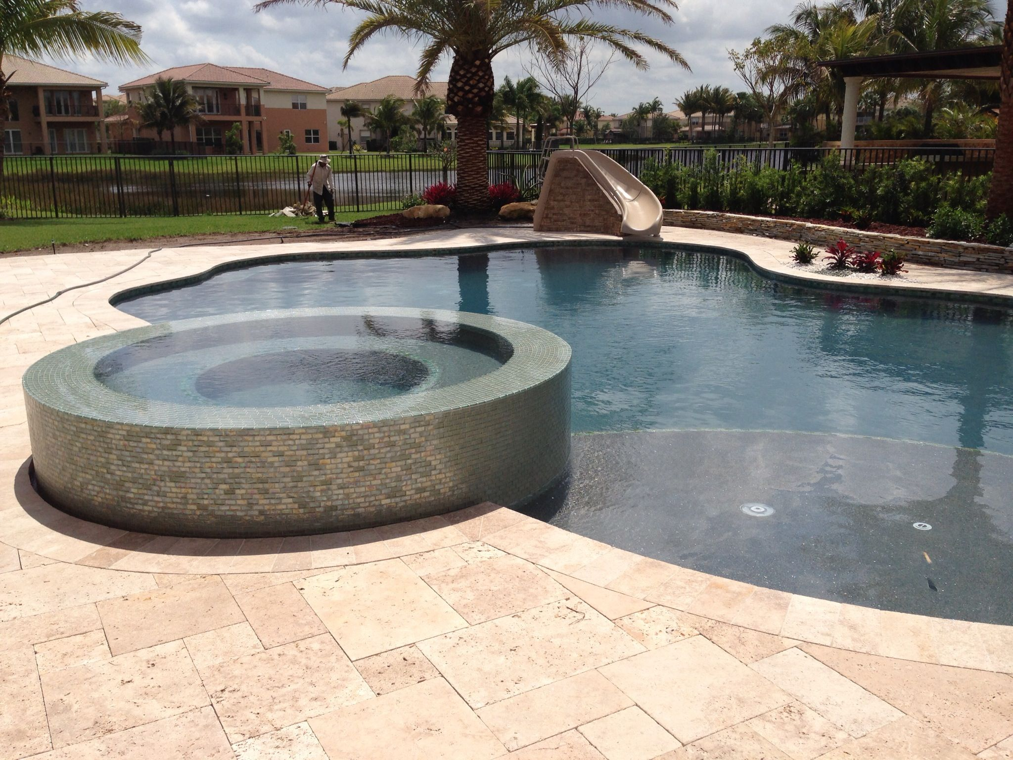 Pin On Fountain Blue Pools New Pool Construction