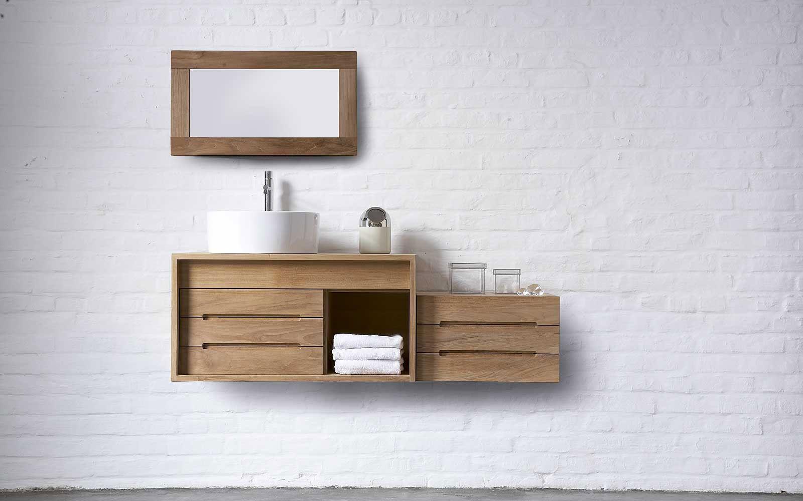 meubles salle de bains bois cube espace aubade id es salle de bain pinterest bathroom. Black Bedroom Furniture Sets. Home Design Ideas