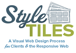 A visual web design process