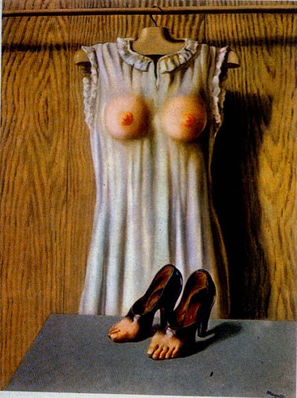 Philosophy in the Boudoir 1947 Rene Magritte surrealism