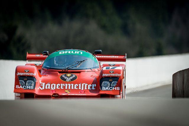Porsche 962 - Test day Spa 28/03/2014