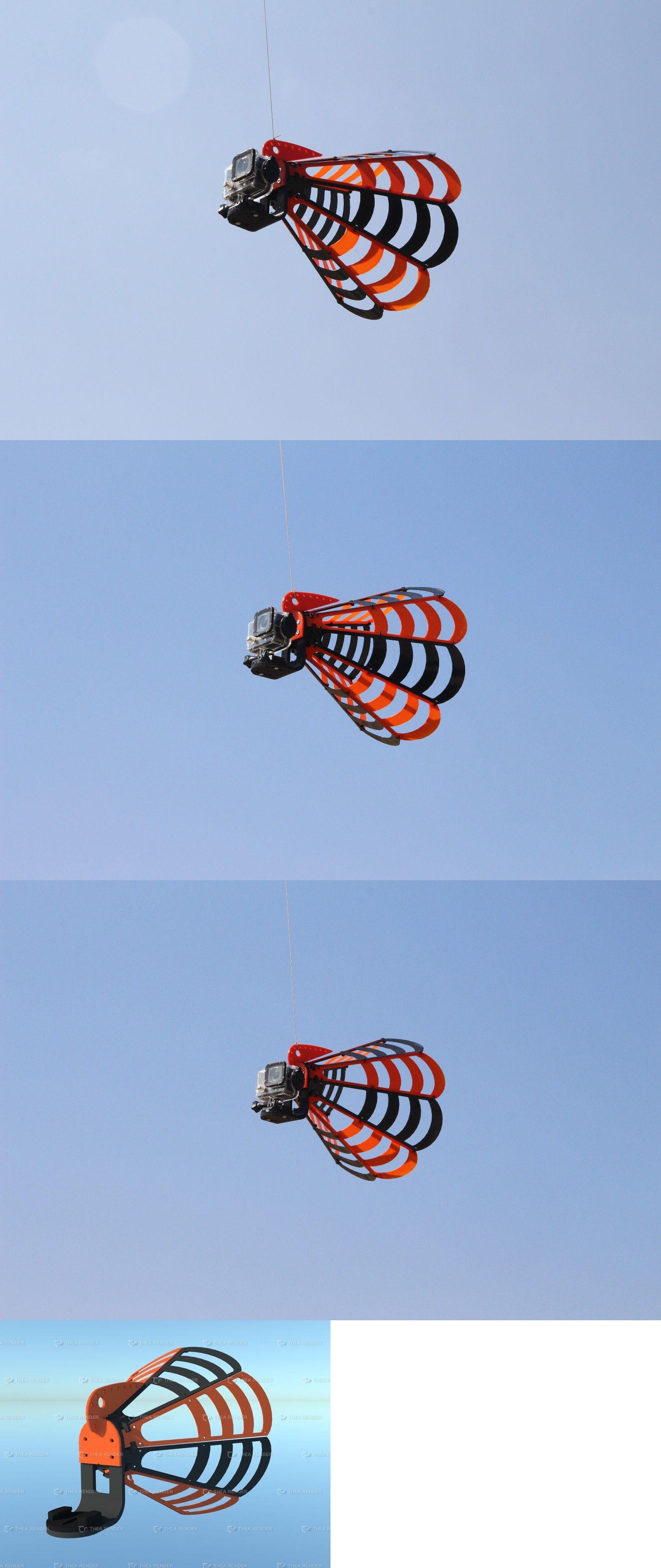 "/""Spider v4/"" Chasecam Chase Cam for Paragliding Paramotor PPG"