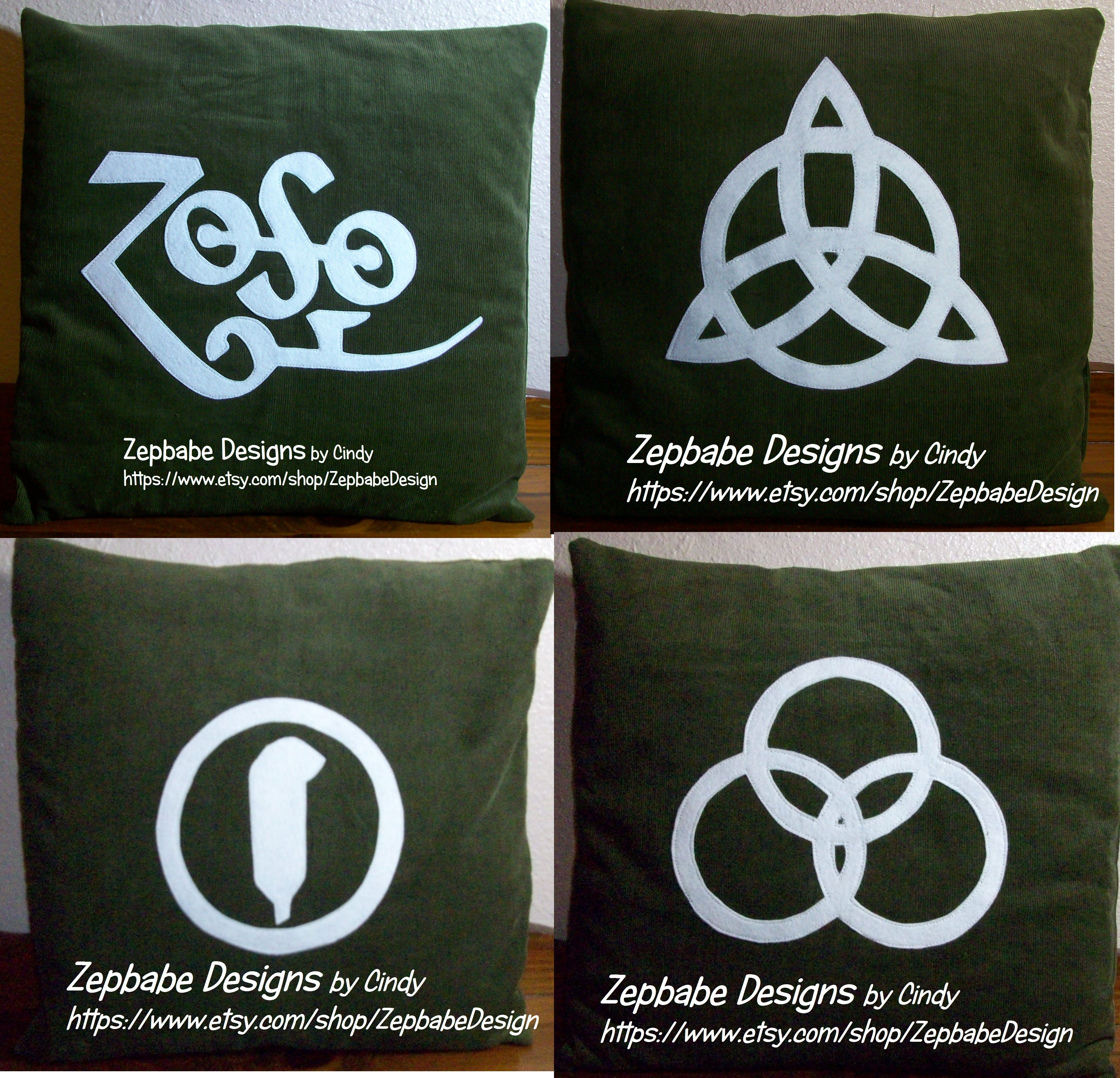 Pin By Learn 2 Sew On Zepbabe Designs Green Pillow Cases