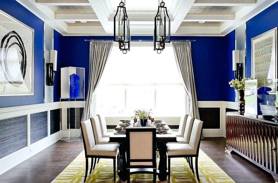 10+ Amazing Royal Blue Decor For Living Room