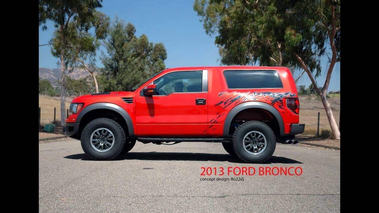 New ford bronco raptor concept