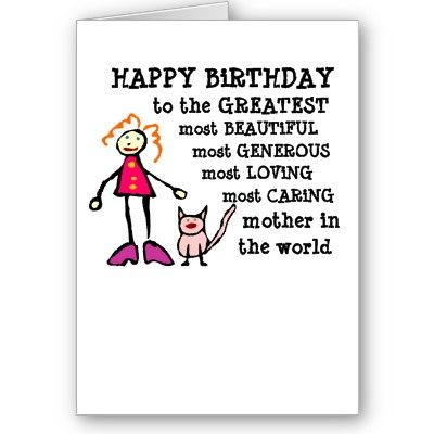 Funny Birthday Card for Mom from Zazzle – Birthday Cards for Mom Funny