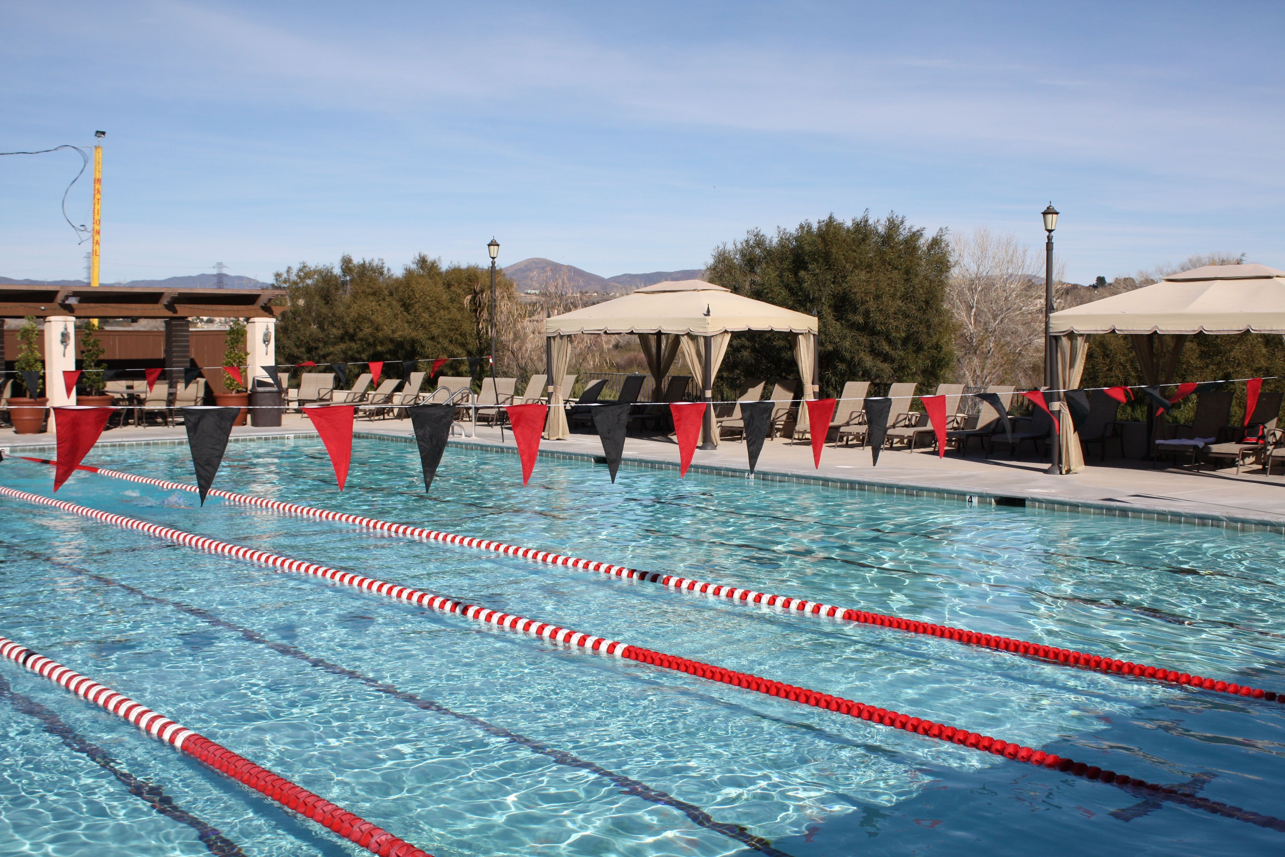 The Paseo Club Has An Outdoor Junior Olympic Sized Swimming Pool Located Right On The Premises Swimming Pool Outdoor
