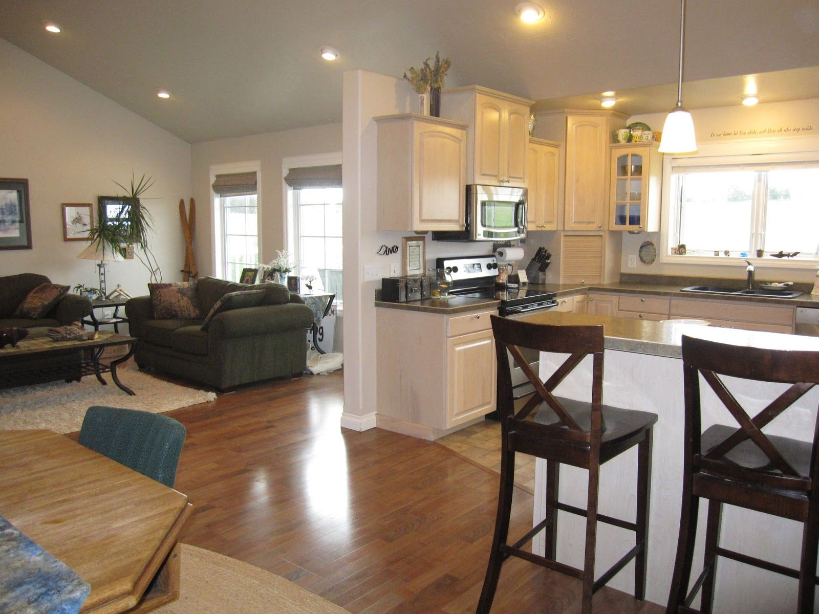 Small Open Kitchen And Living Room Floor Plans Open Concept Kitchen Living Room Open Kitchen And Living Room Open Plan Kitchen Living Room