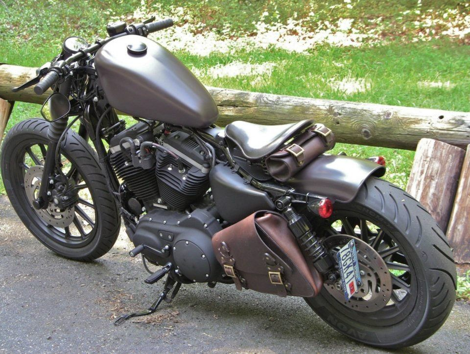CUSTOM HARLEY DAVIDSON SPORTSTER : Photo