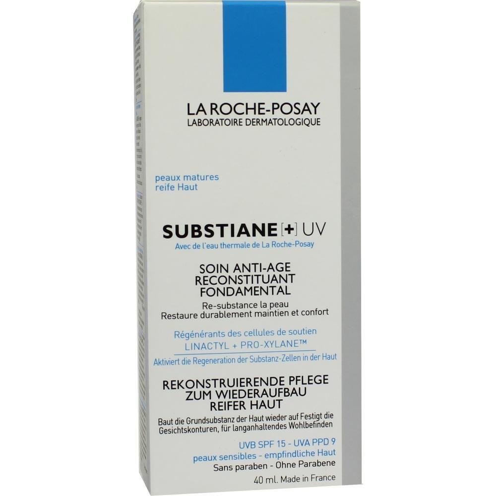LA ROCHE-POSAY Substiane+ UV Creme:   Packungsinhalt: 40 ml Creme PZN: 09643610 Hersteller: L Oreal Deutschland GmbH Preis: 22,26 EUR…