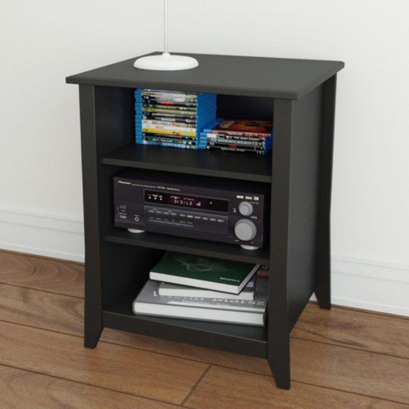 Stupendous Megalak Finition Tuxedo Stereo Cabinet Black Products Interior Design Ideas Gentotryabchikinfo