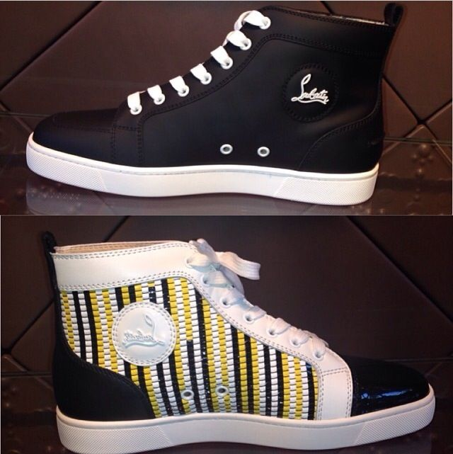 566a14a5ef0 Men Louboutin Sneakers  urbvngallery Instagram  Urbvn Gallery