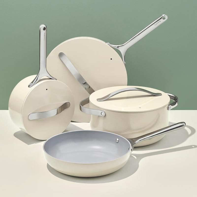 Cookware Set In 2020 Cookware Set Gadgets Kitchen Cooking Ceramic Cookware