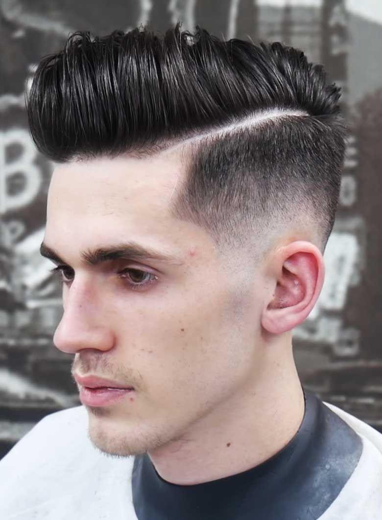 Pompadaur+High Fade | Mens hairstyles, Cool hairstyles ...