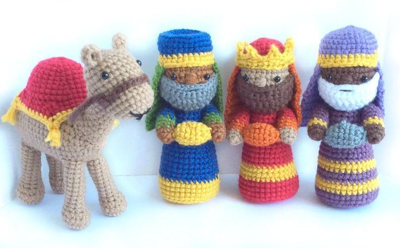 Crochet Navidad perro Regalo Navidad colección/peluche perrito ...   493x794