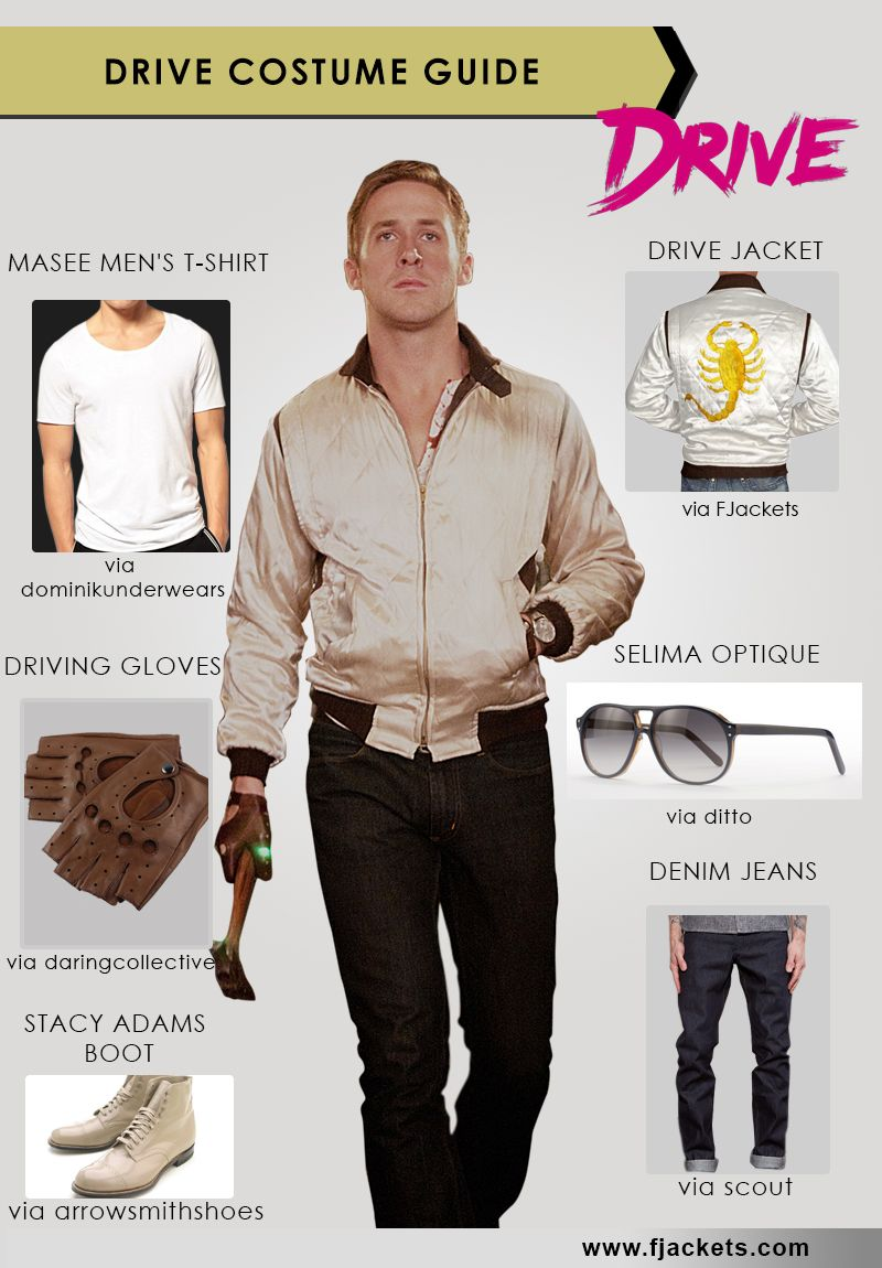 Drive Costume The Easiest Way To Make Your Own Cospaly Top Halloween Costumes Halloween Office Party Halloween Infographic
