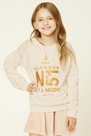 Sudadera Paris Glamour - Niña