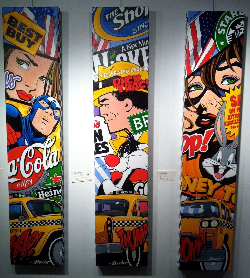 boudro studio pop art paintings pop artists art pinterest pop art paintings pop art. Black Bedroom Furniture Sets. Home Design Ideas