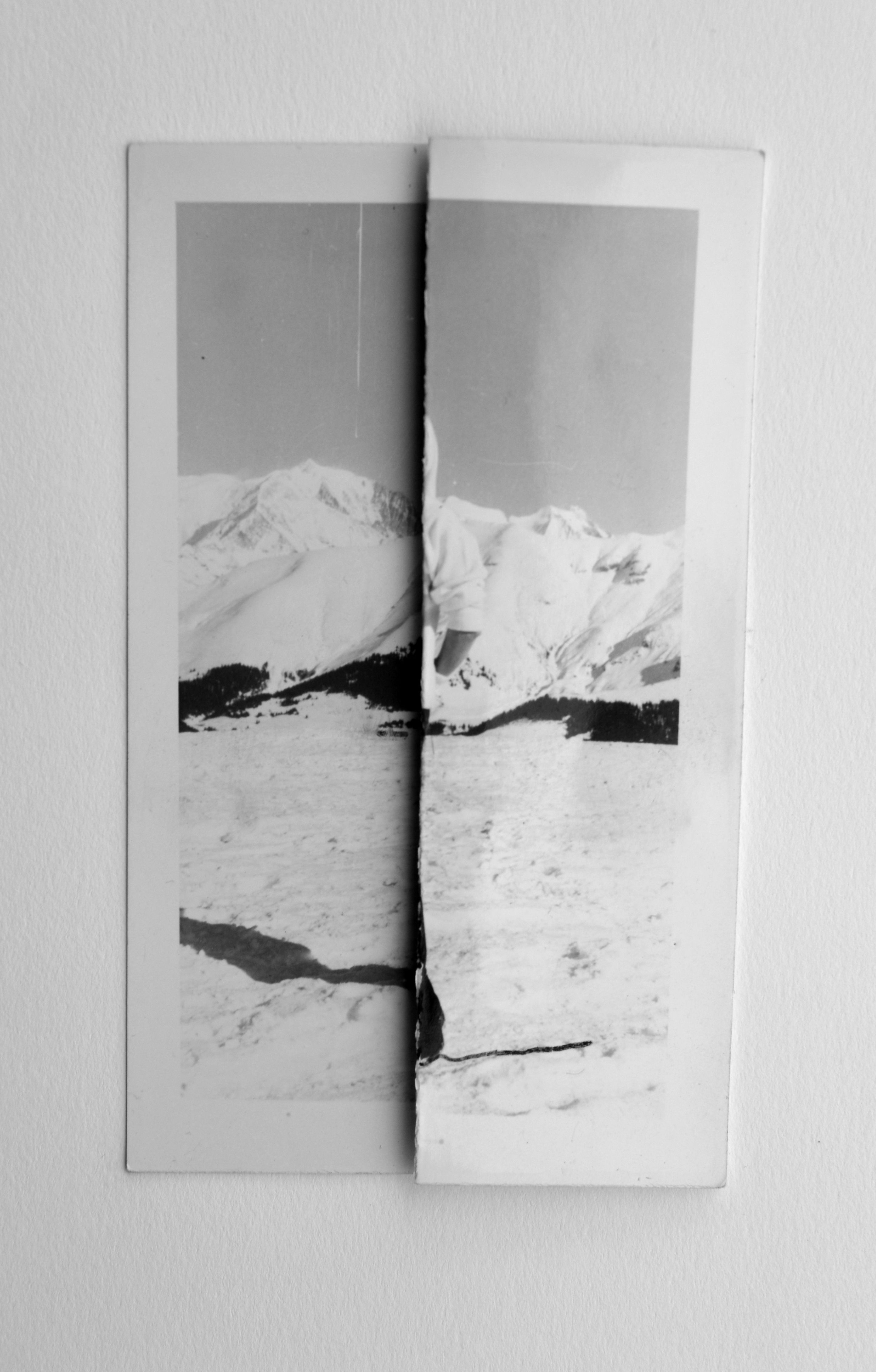 Interferences #4 2015, Adapted old photo. Frame 30x20 cm http://www ...