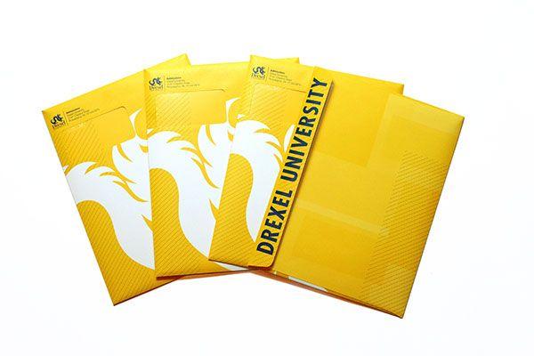 Drexel U - bright envelope