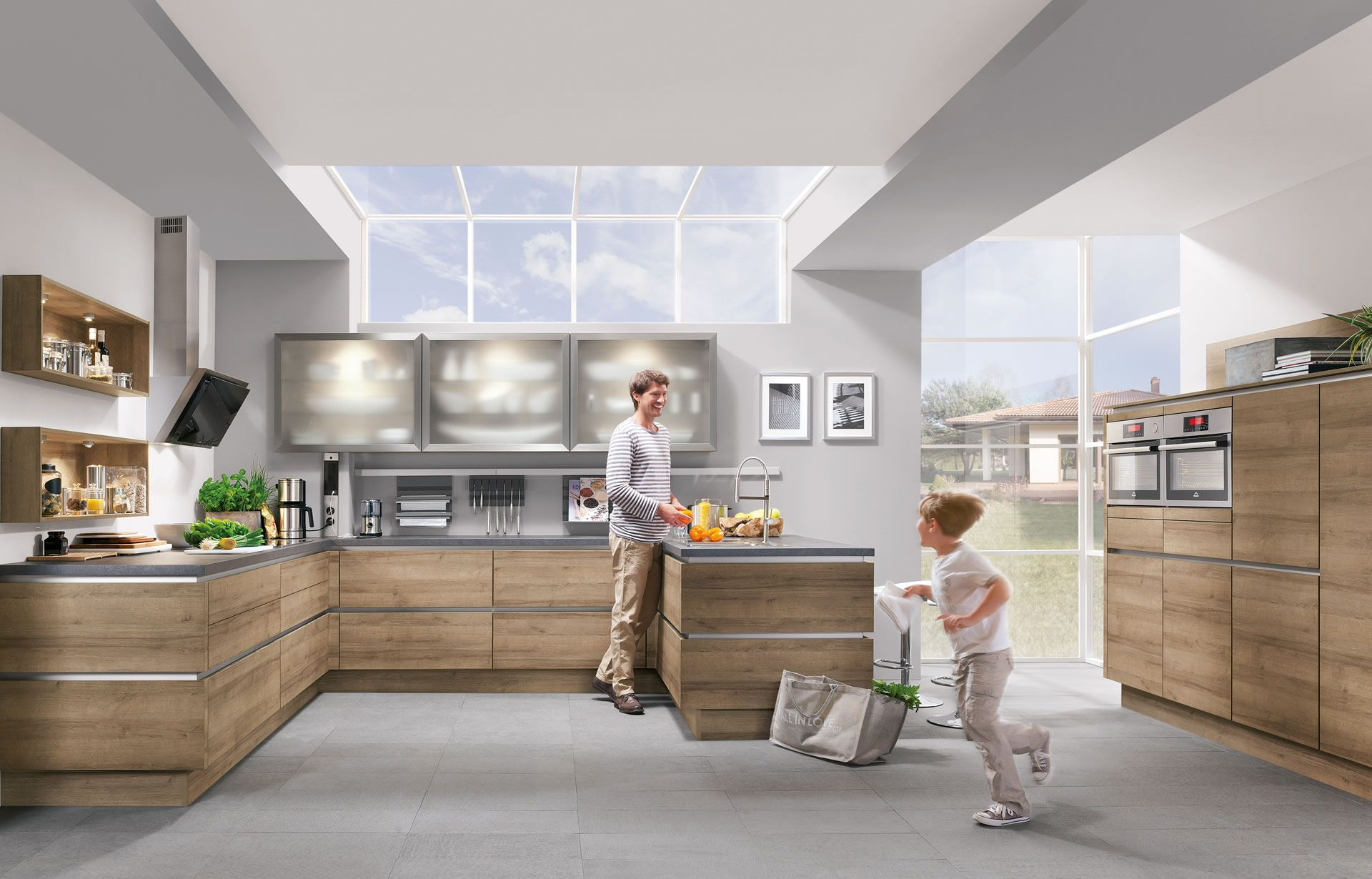 Nobilia Küche Online Bestellen  Impuls Abfallbehälter, 19 Ltr